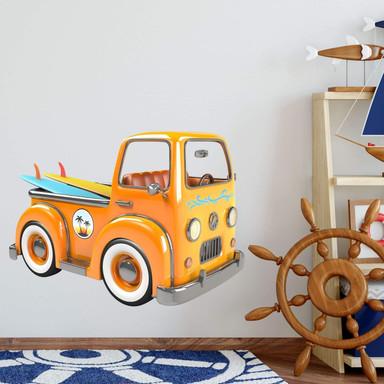 Wandtattoo Michel Agullo - Beach Car