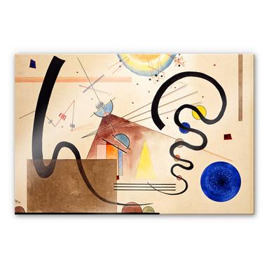 Acrylglasbild Kandinsky - Zwei Bewegungen