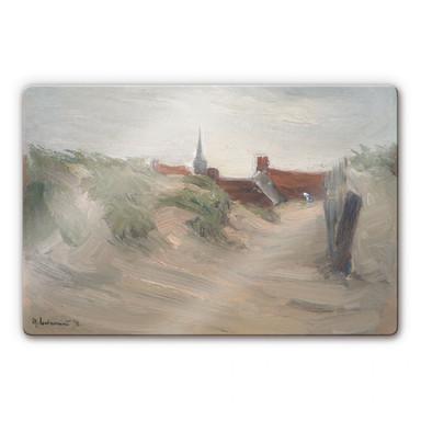 Glasbild Liebermann - Dünen von Katwijk