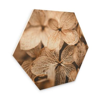 Hexagon - Holz Annie - Zarte Blüten