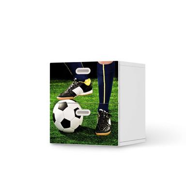 Klebefolie IKEA Stuva / Fritids Kommode - 2 Schubladen - Fussballstar- Bild 1