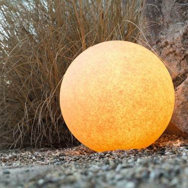 LeuchtKugel Mundan in Terracotta 500mm E27