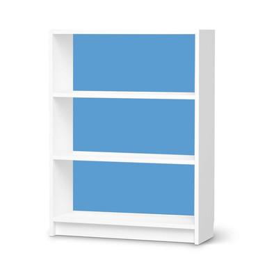 Möbelfolie IKEA Billy Regal 3 Fächer - Blau Light