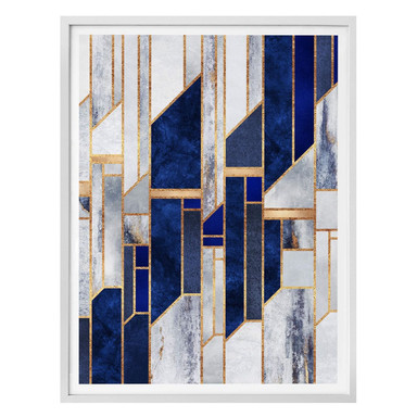 Poster Fredriksson - Blauer Winterhimmel