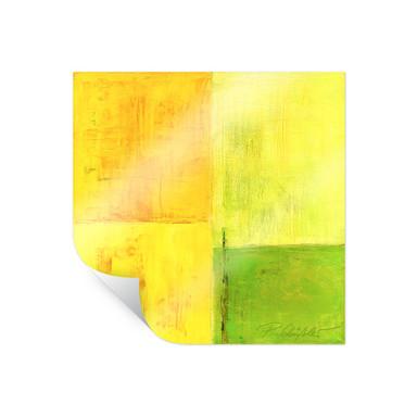 Poster Schüssler - Spring Composition II - quadratisch