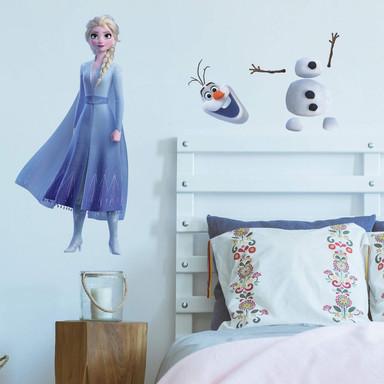 Wandsticker Die Eiskönigin 2 - Maxi Sticker Elsa &Olaf - Bild 1