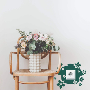 Wandtattoo Blumentopf - Bild 1