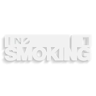 Dekobuchstaben 3D-Anhänger -No Smoking-
