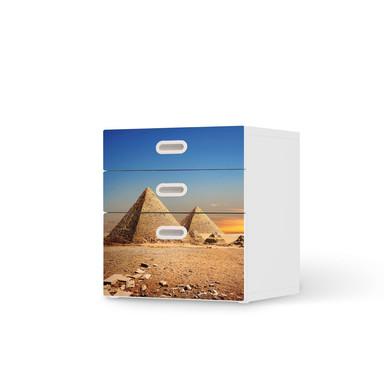 Folie IKEA Stuva / Fritids Kommode - 3 Schubladen - Pyramids