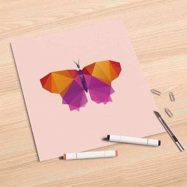 Folienbogen (30x30cm) - Origami Butterfly