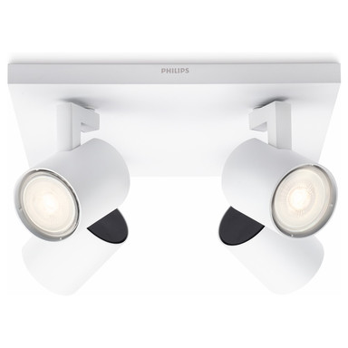 Hochwertige myLiving LED Spot Runner in weiss, 4-flammig, 920lm