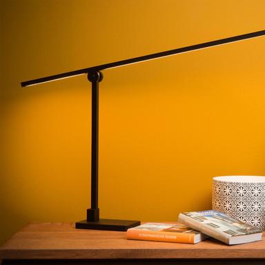 LED Tischleuchte Agena in Schwarz 12W 1058lm