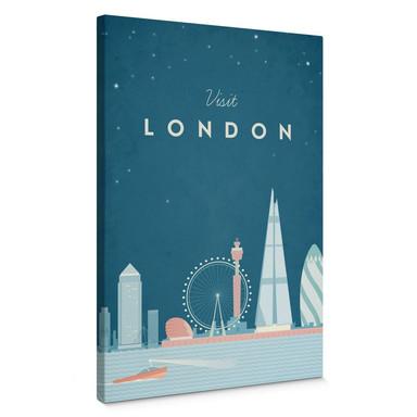 Leinwandbild Rivers - London