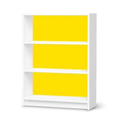 Möbelfolie IKEA Billy Regal 3 Fächer - Gelb Dark