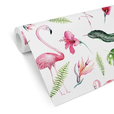Mustertapete Kvilis - Tropicana-Flamingo 02