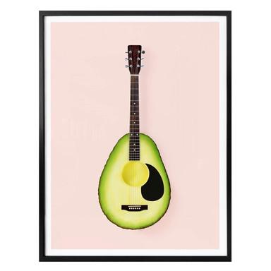 Poster Fuentes - Avocado Gitarre