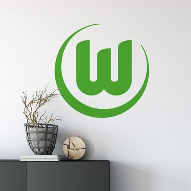 Wandsticker VfL Wolfsburg Logo 1