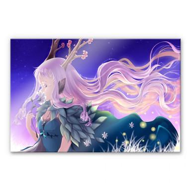 Acrylglasbild La Doll Blanche - Lumi - Bild 1