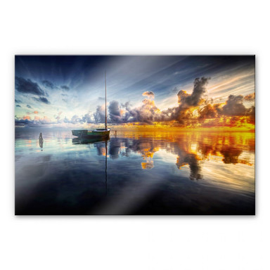 Acrylglasbild Yugawa - Time for reflection