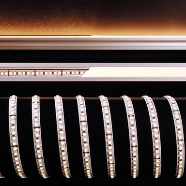 LED Stripe 3528-180-24V-2700K-5M-Nano in Weiss 4650lm IP44