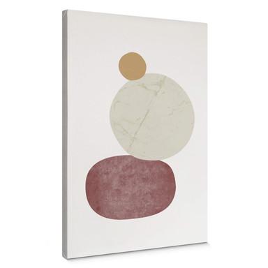 Leinwandbild Nouveauprints - Pebbles 2