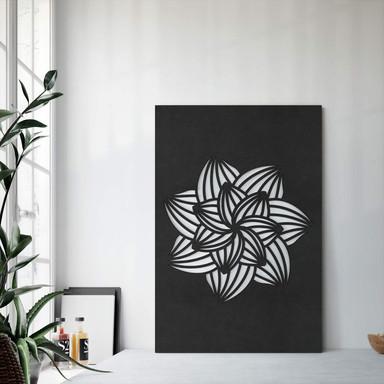 MDF - Holzdeko Mandala Blume