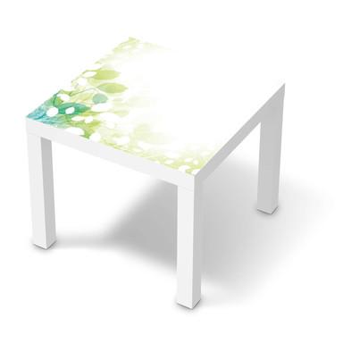 Möbelfolie IKEA Lack Tisch 55x55cm - Flower Light