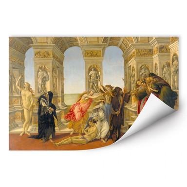Wallprint Botticelli - Die Verleumdung des Apelles