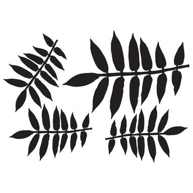 Wandtattoo Blätter-Set 12