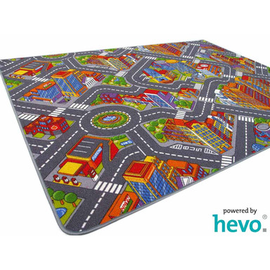 Abenteuer Stadt HEVO ® Kinderteppich