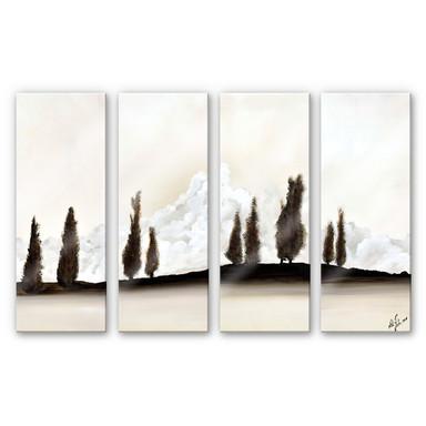 Acrylglasbild Fedrau - Ruhe (4-teilig)