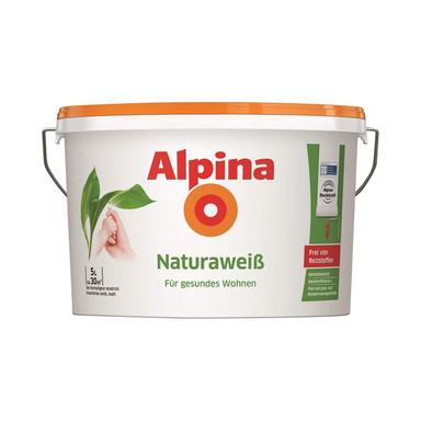 Alpina Naturaweiss Wandfarbe - 5 Liter - Bild 1