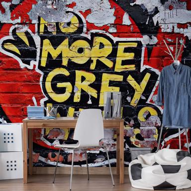 Fototapete Papiertapete No more grey Walls - Bild 1