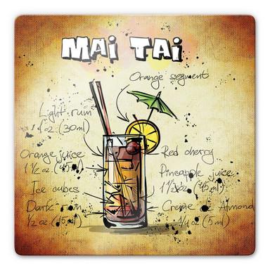 Glasbild Mai Tai - Rezept