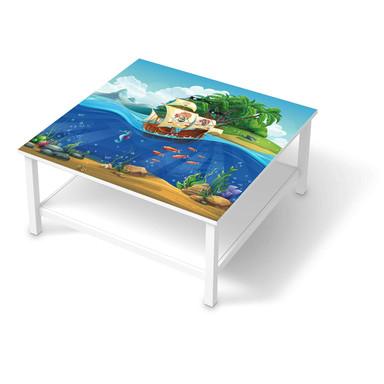 Klebefolie IKEA Hemnes Tisch 90x90cm - Pirates