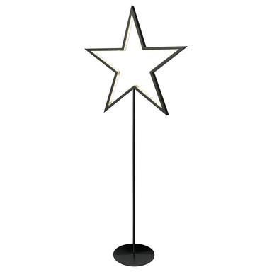 LED Sternstehleuchte Lucy in Schwarz 3W 100cm