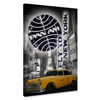 Leinwand PAN AM - New York Yellow Taxi Cab