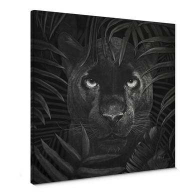 Leinwandbild Korenkova - Panther in jungle