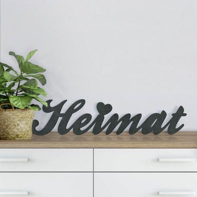 MDF-Holzbuchstaben Heimat
