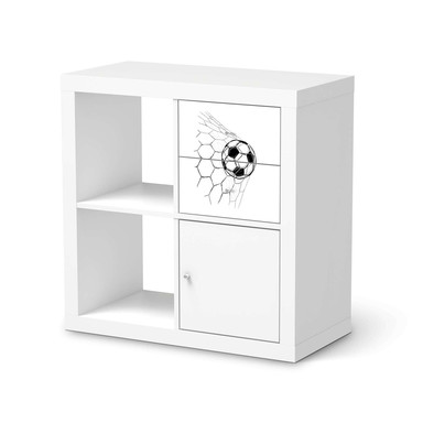 Möbelfolie IKEA Kallax Regal Schubladen - Eingenetzt