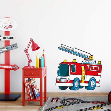 Wandsticker Feuerwehr