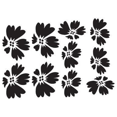 Wandtattoo Blüten-Set 7
