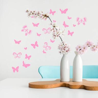 Wandtattoo Schmetterlingsschwarm - Bild 1
