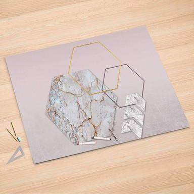 Folienbogen (150x100cm) - Hexagon