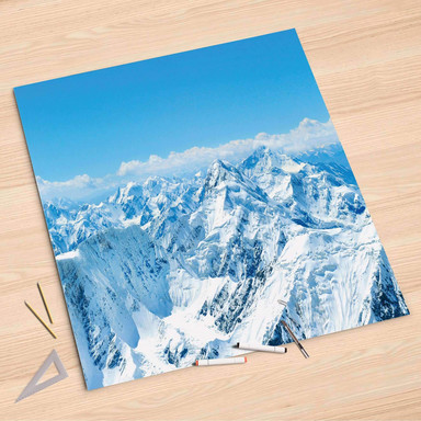 Folienbogen (90x90cm) - Himalaya