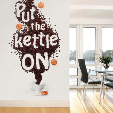 Fototapete Belenko - Put the kettle on - 144x260cm - Bild 1