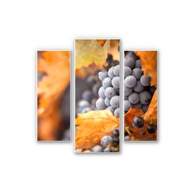 Hartschaumbild Wein im Herbst (3-teilig)