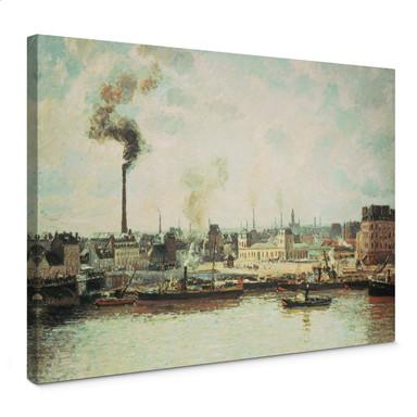 Leinwandbild Pissarro - Quai de Saint-Sever in Rouen
