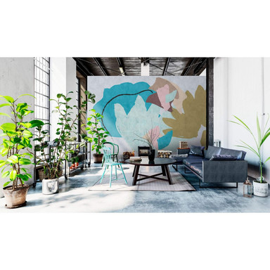 Livingwalls Fototapete Walls by Patel 2 floral collage 1 - Bild 1
