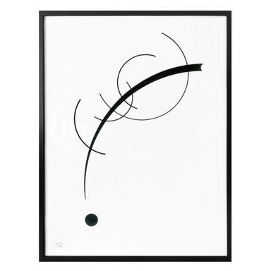 Poster Kandinsky - Kurve zum Punkt